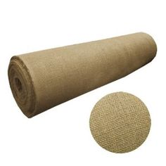 #10: 60 Wide X 10 Yard Long Natural Burlap.
