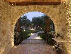 Paliokaliva village is a private complex just 1 km from Tsilivi resort with 18 stone-built, fully private traditional villas, studios, and apartments Most Beautiful, Sidewalk, Villa, Relax, Traditional, Mansions, House Styles, Gallery, Building