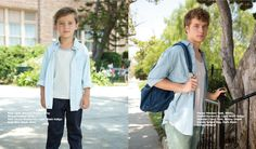 Back to School with American Apparel Kids