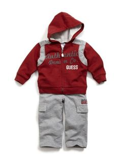 Baby boy clothes#GUESS Kids Boys Toddler Authentic Guess Active Set: Clothing