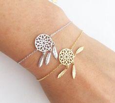 Delicate Dream catcher bracelet