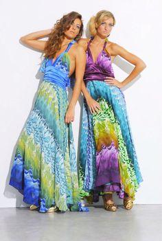 Vestido de baile, vestido maxi roxo, vestido de alta costura casamento de praia, vestidos de praia, chiffon pavão impressão, cerceta topo imprimir halter backelss império wais