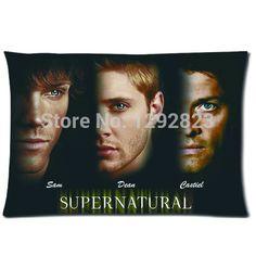 Supernatural Sam Dean Cas Pillow Cover