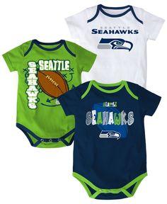 Outerstuff Babies  Seattle Seahawks 3-Piece Bodysuit Set Men - Sports Fan  Shop By Lids - Macy s 30f4a80f0