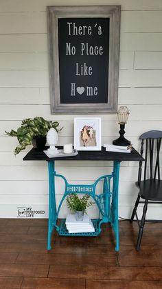 DIY Dumpster Singer Treadle Base Turned into Gorgeous Vintage Farmhouse Table !