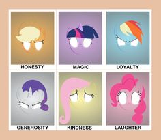 my little pony elements of harmony - Google Search