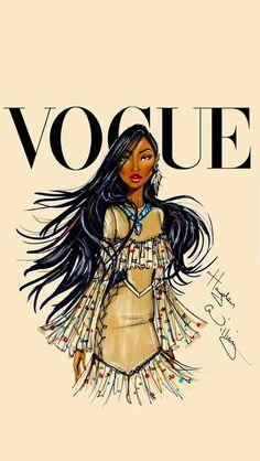Get it Pocahontas! Disney Divas for Vogue by Hayden Williams: Pocahontas Disney Pocahontas, Princess Pocahontas, Disney Princesses, Pocahontas Drawing, Bad Princess, Princess Cartoon, Hayden Williams, Moda Disney, Disney Mode