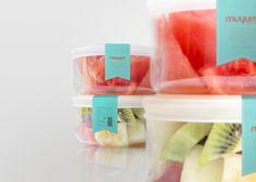 Muyum, diseño de pakaging para marca de comida para niños. Muyum: packaging design for children brand, food for kids. Designed by Tatabi, Elena Sancho.