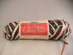 Ravelry: juliew8's Caron Christmas Knitting Yarn