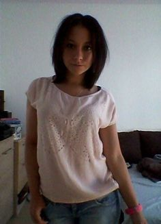 Kup mój przedmiot na #vintedpl http://www.vinted.pl/damska-odziez/bluzki-z-krotkimi-rekawami/10031584-rozowa-bluzeczka-mohito-rs-motyl