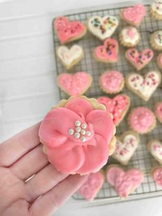 Soft, No Spread Sugar Cookies - In Fine Taste Roll Out Sugar Cookies, Rolled Sugar Cookie Recipe, Christmas Sugar Cookie Recipe, Sugar Cookies Recipe, Holiday Cookies, Cookie Recipes, Homemade Caramel Recipes, Christmas Cake Pops, Christmas Cactus