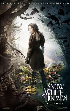 """""""Kristien Stewart"""" as Snow White in the upcoming movie """"Snow White and The Huntsman"""""""