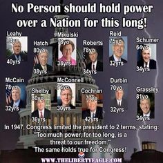 THEY ALL SHOULD GO ! Flush the s and vote in new ideas and people who will do what THE People who put them there want. Not their own agendas. And if u put pork into hills for paybacks to people that gave u money, u are fined personally and evicted from office. There is no reason that a bill up for passing  that costs 40 million should have ANYTHING else attached to it.