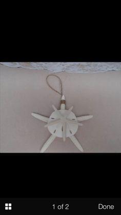 Starfish & Sand Dollar Ornaments