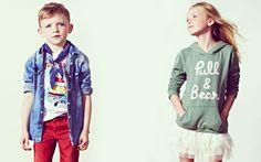Pull & Bear kids fashion.