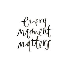 • make it matter • #todaysinspiration #life #moment Life is full of it's ups and downs, but every moment has its place in time....creating a life only special to you!