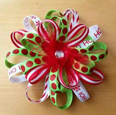 Cute Christmas hairbow