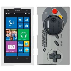 Nokia Lumia 1020 SFC Old Video Game Controller Phone Case Cover by TrekCovers, http://www.amazon.com/dp/B00EV15JKA/ref=cm_sw_r_pi_dp_r3Cusb16Z45BE
