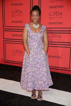 The Style of the 2013 CFDA Awards: Tracy Reese in her own design