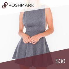 American apparel gray dress Gray side boob American Apparel Midi Dress American Apparel Dresses Midi