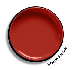 Resene Monza is a bright sports car red - clean, fast and primary. On the bedside tables. So sporty Burgundy Walls, Burgundy Decor, Red Walls, Office Paint Colors, Room Paint Colors, Living Room Colors, Wall Decor Design, Diy Design, Paint For Kitchen Walls