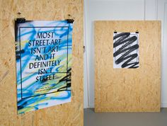 """""""My favorite artists put art on the street"""" by Simon Jung Krestesen, via Behance"""