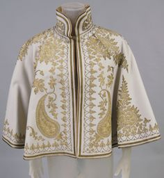 Capelet, 1890-1910, France or Turkey.