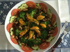 Ensalada de Brócoli y Patatas con Frutos Secos y Naranja - La Mesa
