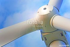 "Download the royalty-free photo ""Wind turbine for electric power production"" created by sebos at the lowest price on Fotolia.com. Browse our cheap image bank online to find the perfect stock photo for your marketing projects!"
