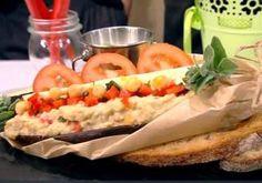 placinta-la-tigaie-cu-aluat de cartofi-1 - Rețete Merișor Hot Dogs, Tacos, Mexican, Ethnic Recipes, Food, Diets, Banana, Meal, Essen