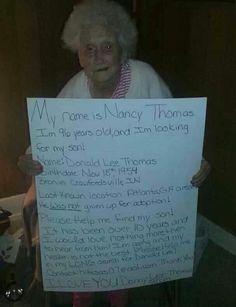 Bless her heart!