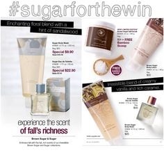 What is your favorite?!?!#BeautiControl's sugar or brown sugar #fallingforthesescents #sugarforthewin #octoberoptions #bcbyblakely #instock or #online www.beyoubeglam.com #bathandbodywithbenefits