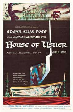 House Of Usher.....1960....a roger corman film