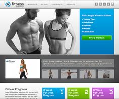 Fitness Blender ~ My Favorite FREE Workout Website! They have so many workouts that are amazing! Love this!