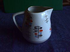 Vintage USSR Latvia Riga PFF Porcelain  Creamer white 1960s #42