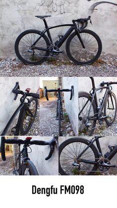 Chinese carbon road bike.  Dengfu FM098.