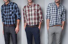 ZARA-camicie da uomo