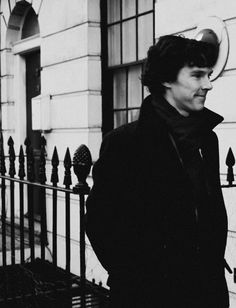 Sherlock, episode one, when he brings John home. How happy does he look?