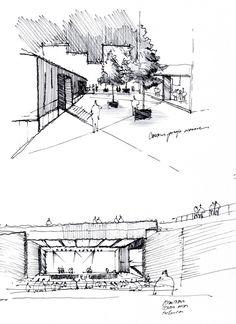 Sketch By Alvar Aalto Sketch Pinterest Alvar Aalto Sketches