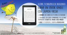¡GANA UN EBOOK KINDLE CON LAIMON FRESH! ¿Con quién compartirías tus lecturas veraniegas?