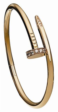 How sick is this nail bracelet by Cartier!
