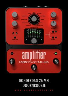 GigPosters.com - Amplifier - Long Distance Calling