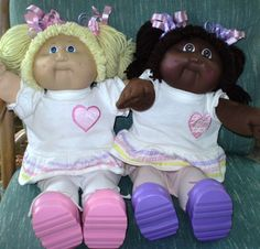 """Cabbage Patch Kid TWO 16"""" Dolls – Best Friends Forever African American Blonde #Dolls"""
