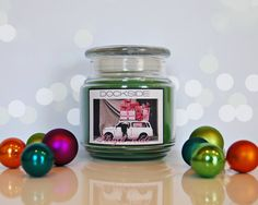 16 oz. / SLEIGH RIDE / Soy-Blend / Fragrant Candle (Holiday Series) A favorite!