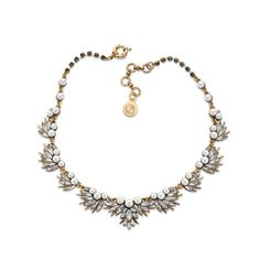 Pearl and Crystal Statement Necklace | 7 Charming Sisters - Jewelry