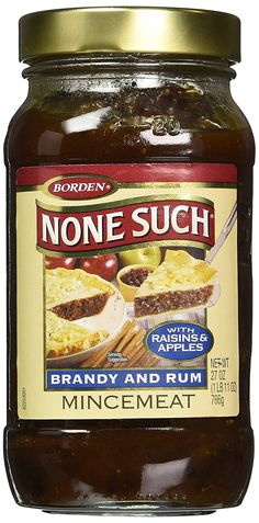 None Such Mincemeat Brandy
