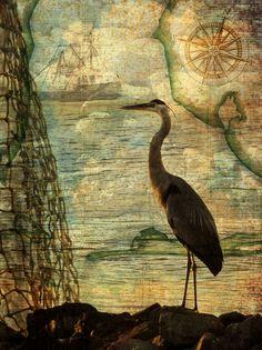 "Pescatori di mare / / Art Print / / 12 ""x 16"" di FreedSoulsDesign su Etsy https://www.etsy.com/it/listing/94320362/pescatori-di-mare-art-print-12-x-16"