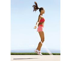 The Ultimate Guide to Jump Rope: Workout 1: Beginner's Burn. If you're new to the rope, do like Vanessa Minnillo and add a nine-minute skipping routine to the beginning of your regular workout. Over time, you'll master the basics AND add a major fat burner to jump start the rest of your workout. #SelfMagazine