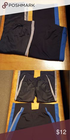 Boys athletic pants, 2 pair Highlander outfielders boys athletic pants. No stains. Comes from smoke free and pet free home. Bottoms Sweatpants & Joggers