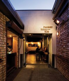 Ponsonby Social Club | Brand Identity on Behance